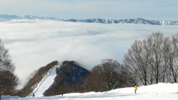 In Japan they call it 'Un Kai' in German ' Nebel Meer' not sure what it is in English but beautiful to see. Photo by Robert thanks