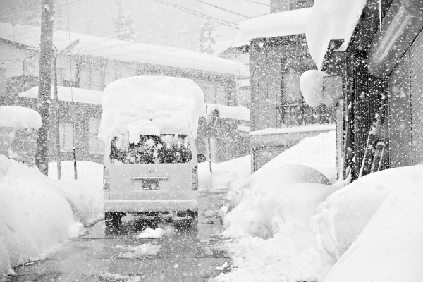 Its been dumping in Nozawa Onsen the last couple of days.