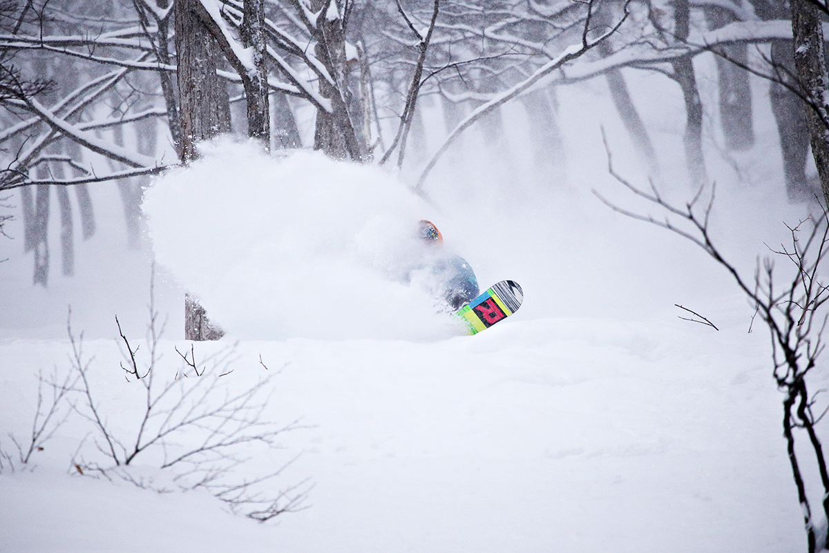 Nozawa Onsen Snow Report 16 February 2014: Crazy Blizzard