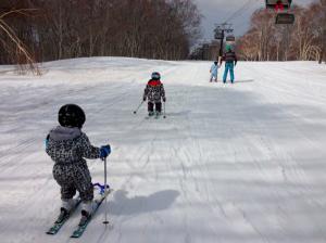 Nozawa Onsen Snow Report 17 March 2015 - Warmer Spring Days