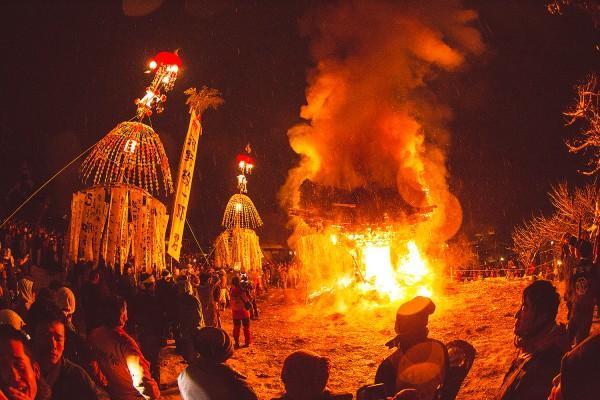 Nozawa Onsen Fire Festival, Shuttle from Myoko