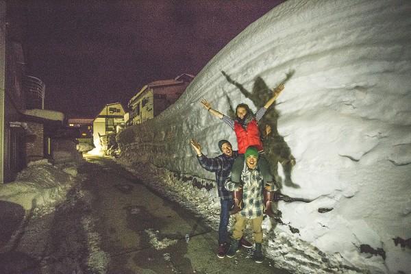Nozawa Snow Report 17 February 2015 - Overcast Day