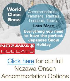 Ski rental, Tours, Hotels and Accommodation in Nozawa Onsen