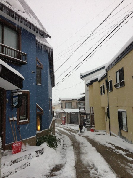 Nozawa Onsen Snow Report 14 March 2016: Look outside, it's snowing!