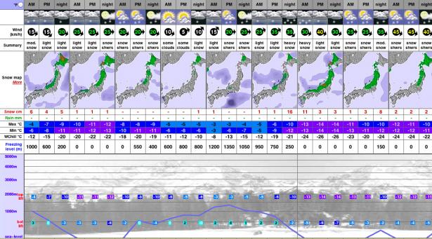 Forecast looks promising