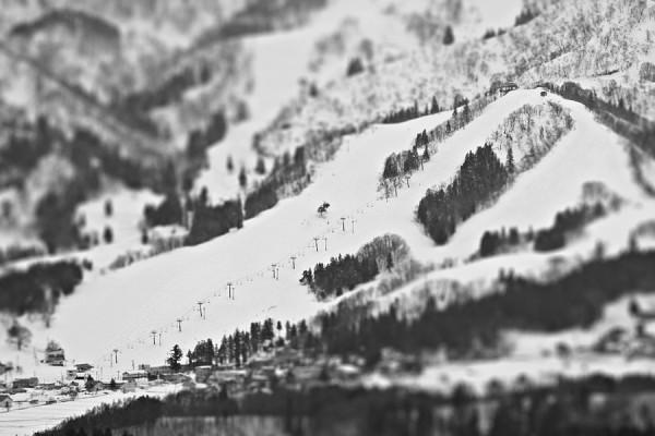 Nearby Togari Onsen ski resort.
