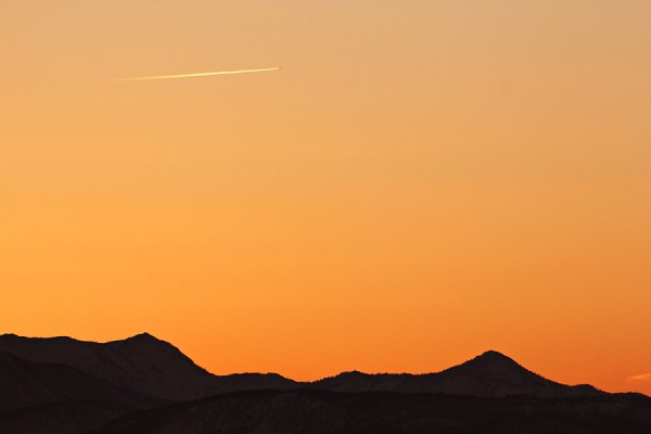 Yet another nice sunset in Nozawa.