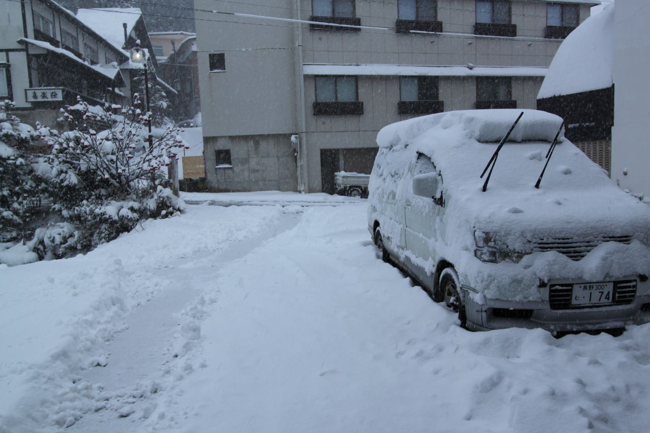 30cm of fresh overnight in Nozawa!