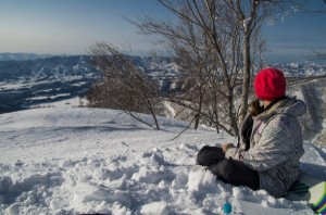 Nozawa Snow Report 22 February 2015 - A clear day for now