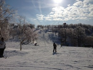 Nozawa Snow Report 06 March 2015 - Spring Conditions Prevail