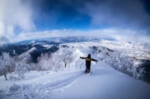 Nozawa Snow Report 21 February 2015 - Bluebird Saturday