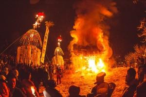 Nozawa Onsen Fire Festival 2015