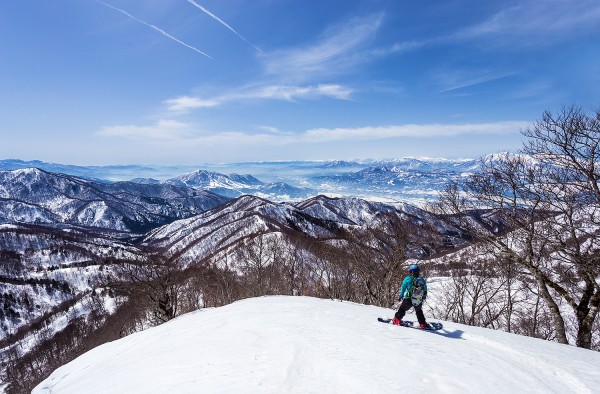 Nozawa Onsen Snow Report 17 March 2016: It's a bluebird day