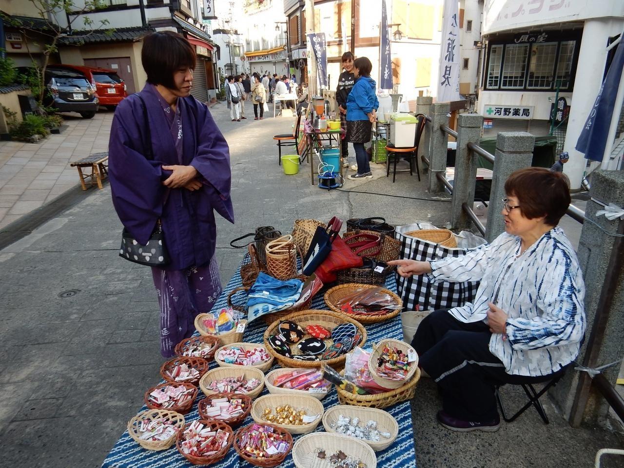 Asa-ichi Markets in Nozawa Onsen
