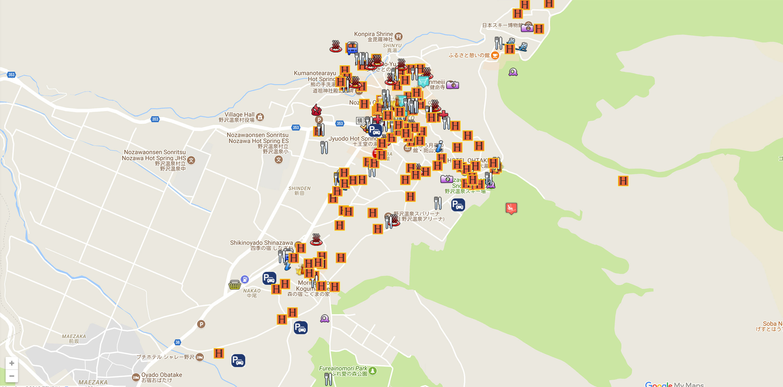 Nozawa Onsen Guide: Hotels, webcams, maps, weather & ski